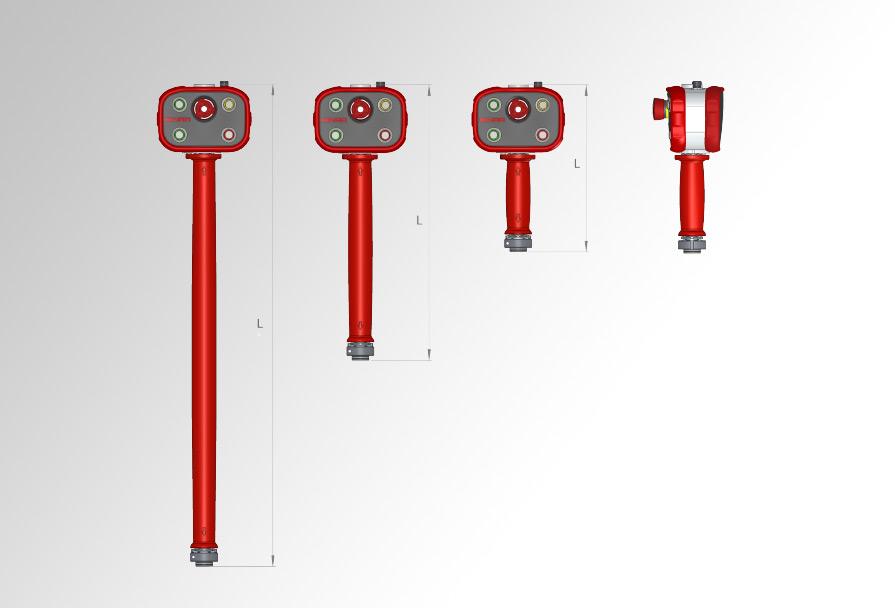 Uchwyt sterujący wbudowany dostosowania wraz zjednostką sterującą Quick-Lift Systems™
